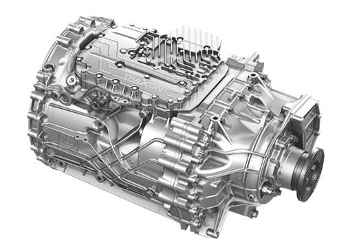 Volkswagen Extrapesados Meteor Transmissão